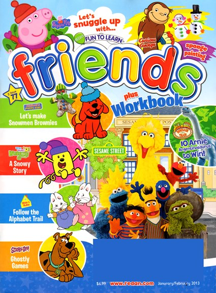 Preschool Friends Cover - 1/1/2013