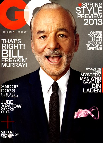 Gentlemen's Quarterly - GQ Cover - 1/1/2013