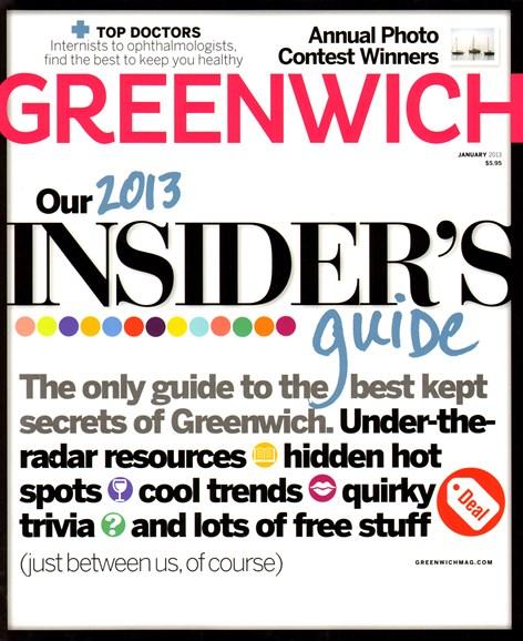 Greenwich Cover - 1/1/2013