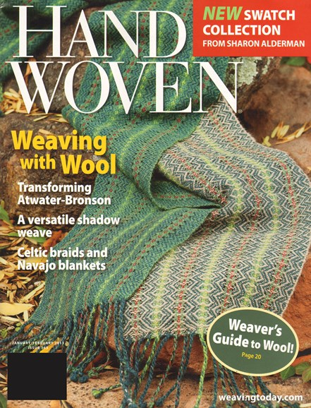Handwoven Cover - 1/1/2013