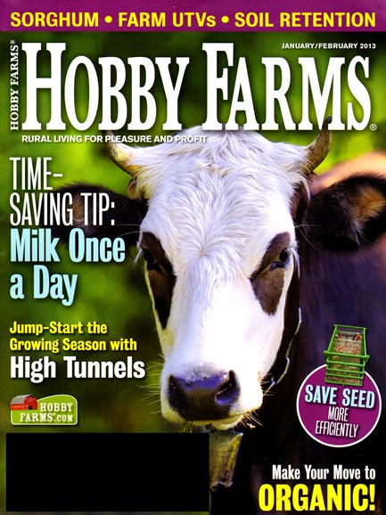 Hobby Farms Cover - 1/1/2013