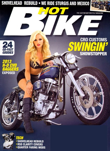Hot Bike Cover - 1/1/2013