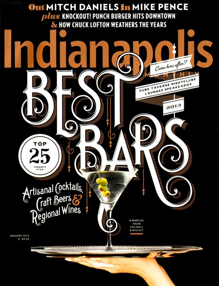 Indianapolis Monthly Cover - 1/1/2013