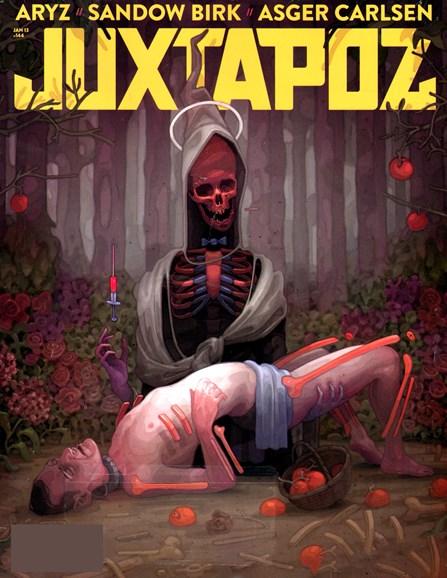 Juxtapoz Cover - 1/1/2013