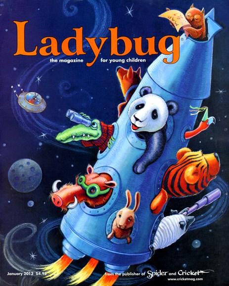 Ladybug Cover - 1/1/2013