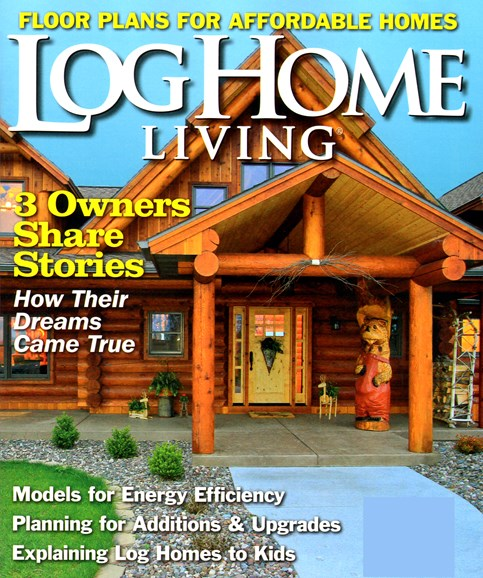 Log Home Living Cover - 1/1/2013