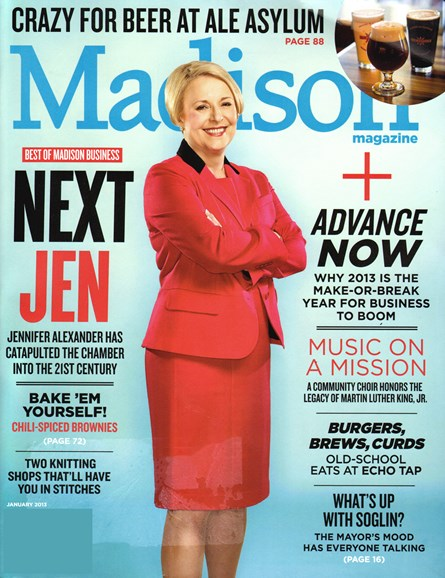 Madison Magazine Cover - 1/1/2013