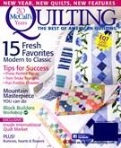 Mccall's Quilting Magazine 1/1/2013