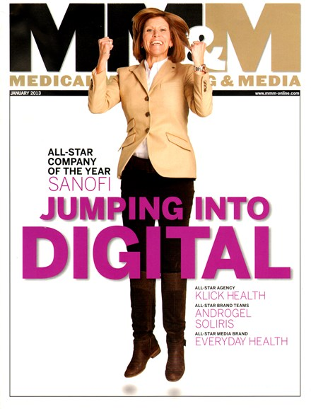 Medical Marketing & Media Cover - 1/1/2013