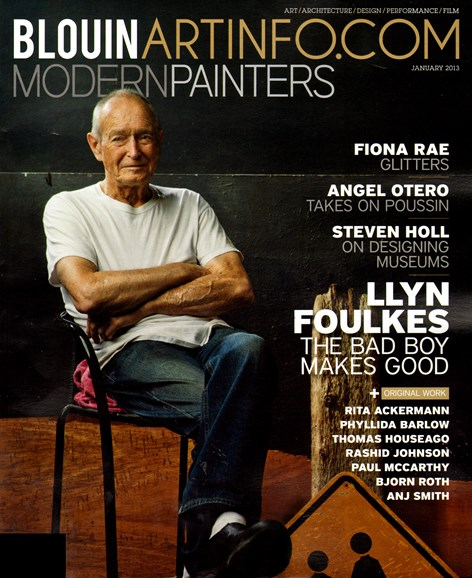 Blouin Modern Painters Cover - 1/1/2013