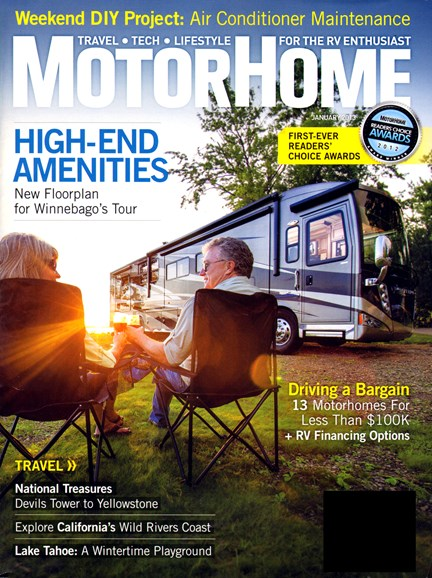 MotorHome Cover - 1/1/2013