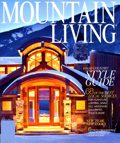 Mountain Living Cover - 1/1/2013