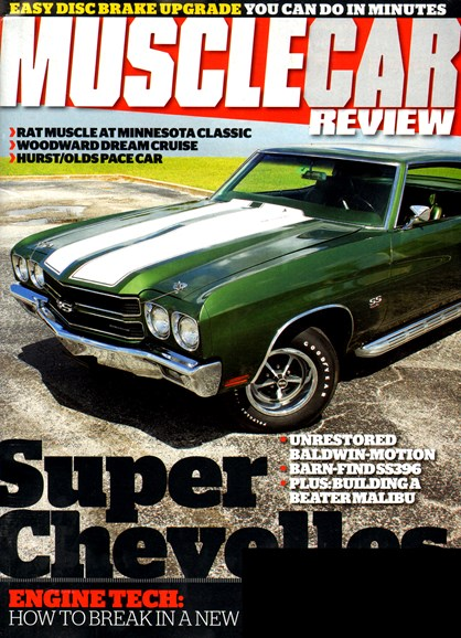 Muscle Car Review Cover - 1/1/2013