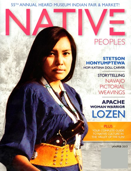 Native Peoples Cover - 1/1/2013