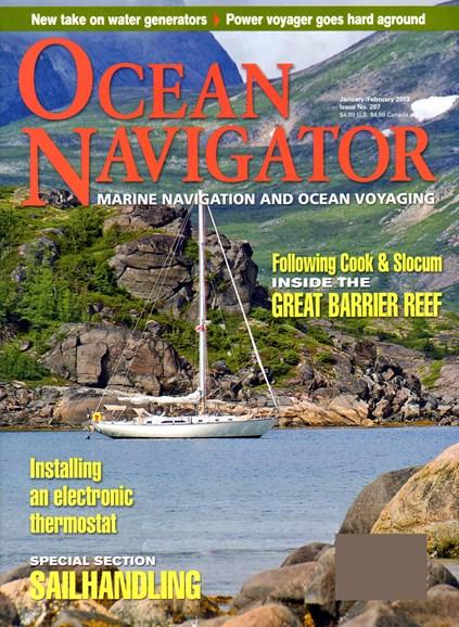 Ocean Navigator Cover - 1/1/2013