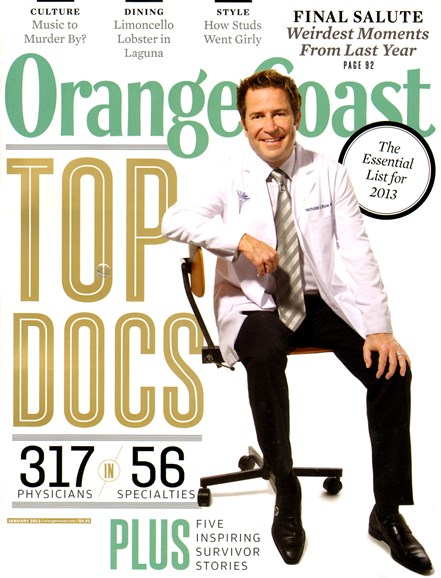Orange Coast Cover - 1/1/2013