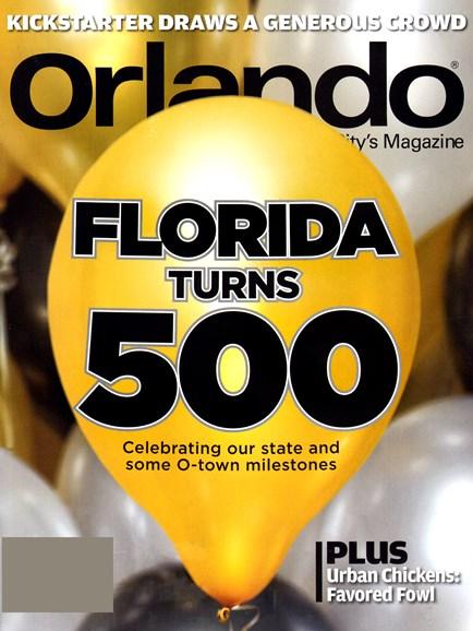 Orlando Magazine Cover - 1/1/2013