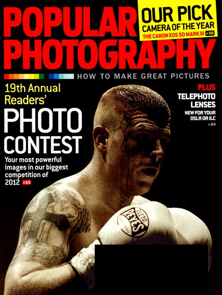 Popular Photography Cover - 1/1/2013