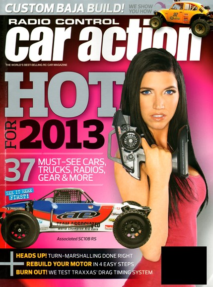 Radio Control Car Action Cover - 1/1/2013