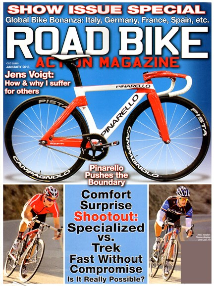 Road Bike Action Cover - 1/1/2013