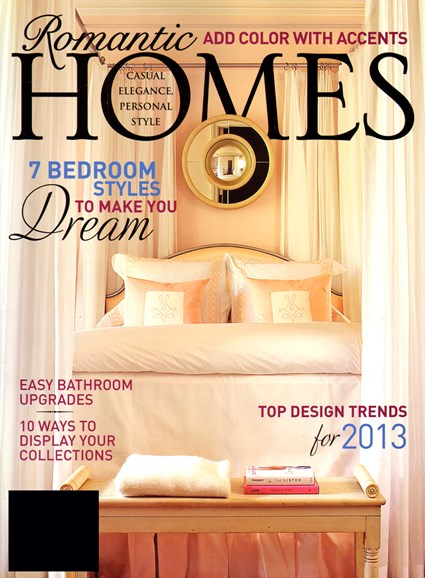 Romantic Homes Cover - 1/1/2013