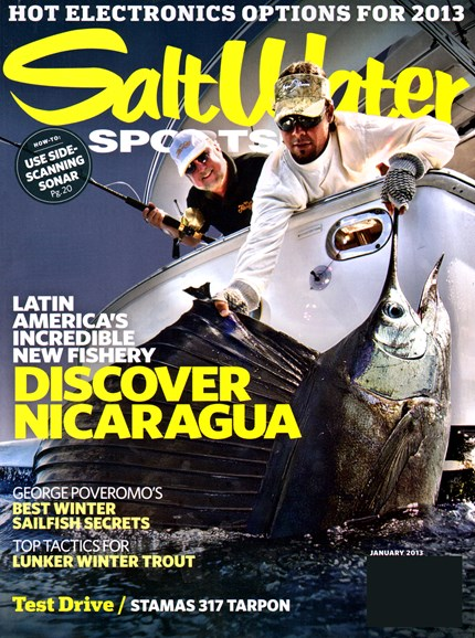 Salt Water Sportsman Cover - 1/1/2013