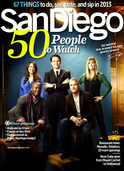 San Diego Cover - 1/1/2013