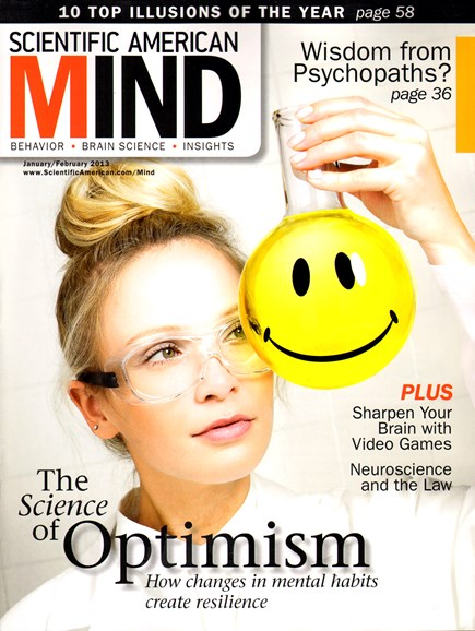 Scientific American Mind Cover - 1/1/2013