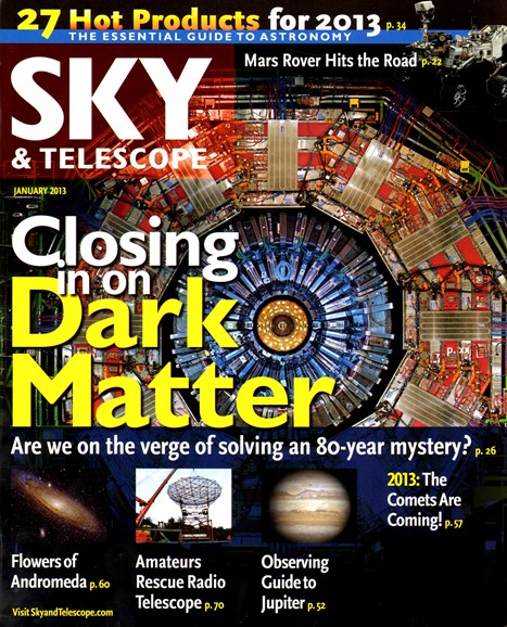 Sky & Telescope Cover - 1/1/2013