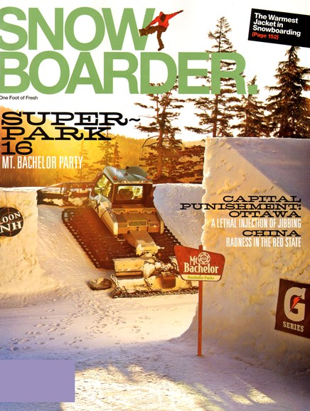Snowboarder Cover - 1/1/2013