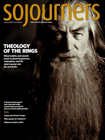 Sojourners Cover - 1/1/2013