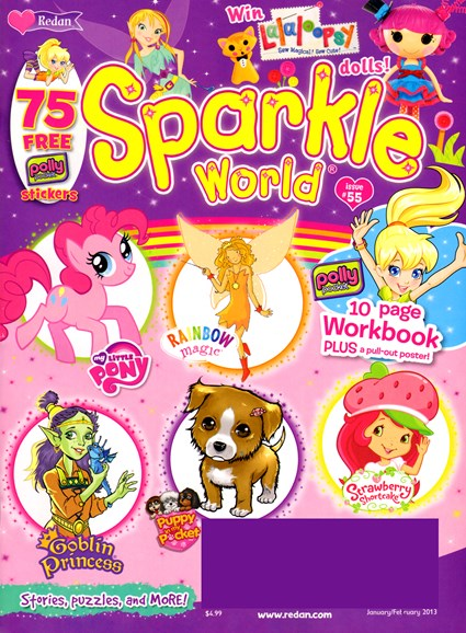 Sparkle World Cover - 1/1/2013