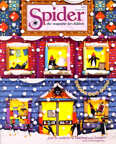 Spider Cover - 1/1/2013