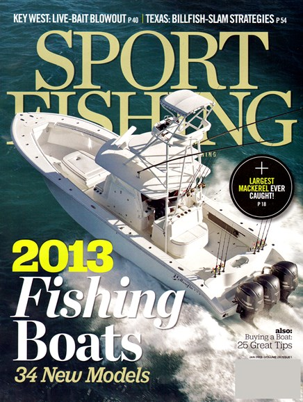 Sport Fishing Cover - 1/1/2013