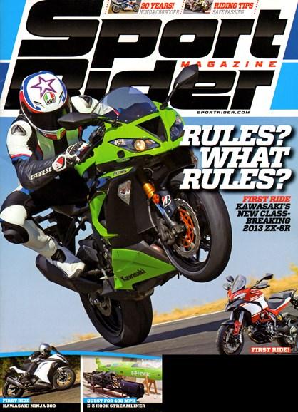 Sport Rider Cover - 1/1/2013