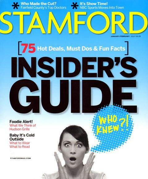 Stamford Magazine Cover - 1/1/2013