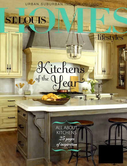 St. Louis Homes & Lifestyles Cover - 1/1/2013