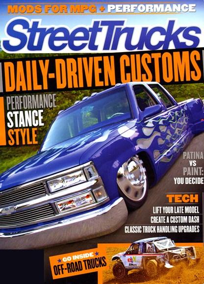 Street Trucks Cover - 1/1/2013