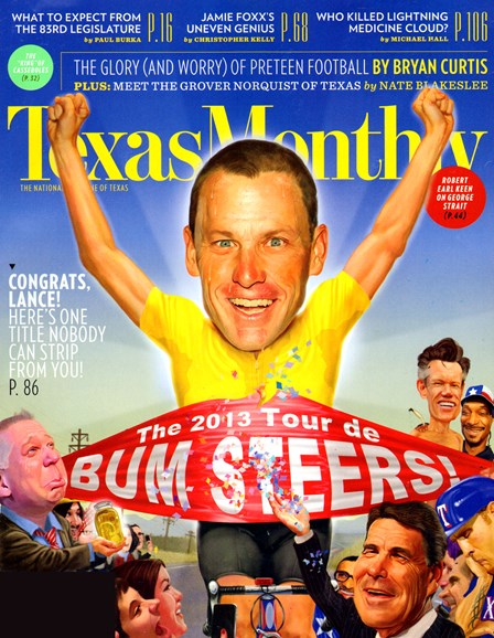 Texas Monthly Cover - 1/1/2013