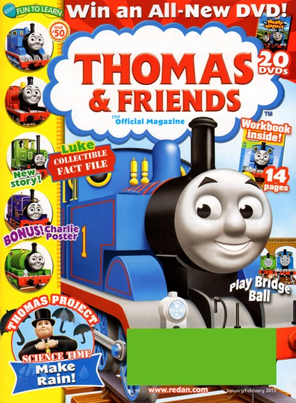 Thomas & Friends Cover - 1/1/2013