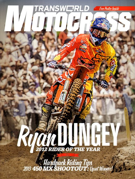 Transworld Motocross Cover - 1/1/2013