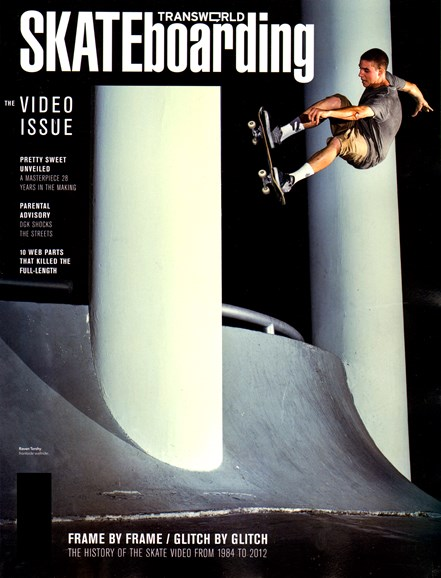 Transworld SKATEboarding Cover - 1/1/2013