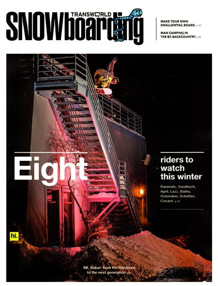 Transworld SNOWboarding Cover - 1/1/2013