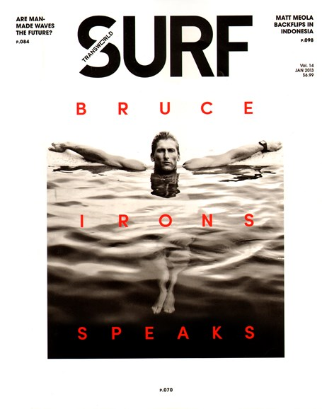Transworld SURF Cover - 1/1/2013