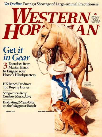 Western Horseman Cover - 1/1/2013