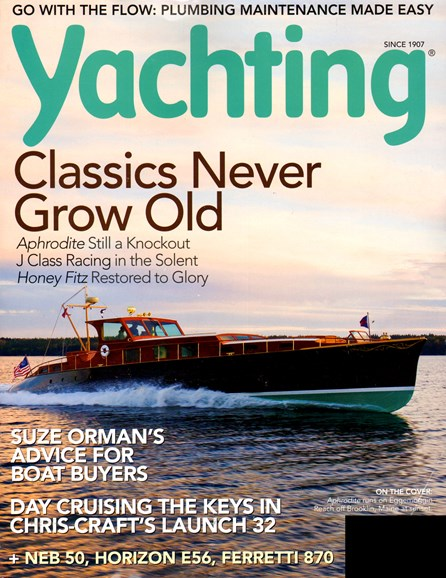 Yachting Cover - 1/1/2013