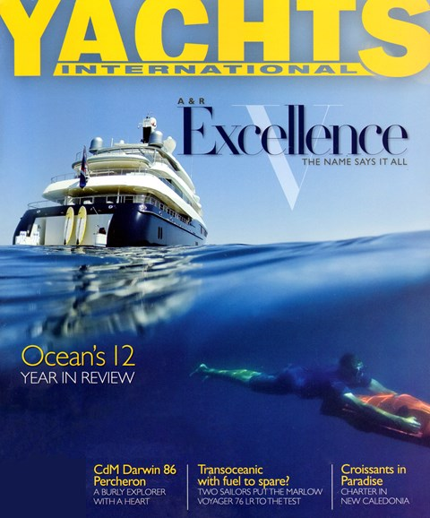 Yachts International Cover - 1/1/2013
