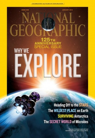 National Geographic Cover - 1/1/2013
