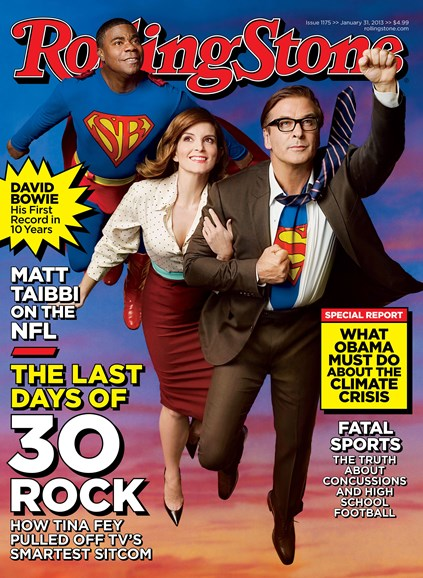 Rolling Stone Cover - 1/31/2013