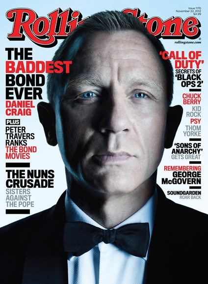 Rolling Stone Cover - 11/22/2012